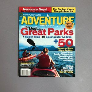 NATIONAL GEOGRAPHIC ADVENTURE Great Parks 2005